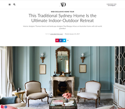 Beebo project featured in Architectural Digest